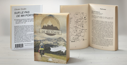 Découvrez la photo du livre d'Olivier Godin : Sur le pas de ma porte.